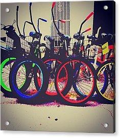 Key West Bikes For Rent Acrylic Print