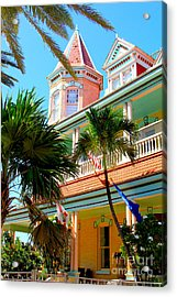 Key West Acrylic Print by Carey Chen