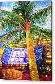 Key West Cat On A Hot Tin Roof Acrylic Print