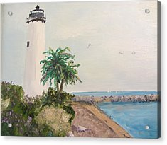 Key West Lighthouse Acrylic Print