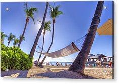 Key West Siesta Acrylic Print by Danny Mongosa