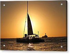 Key West Sunset Acrylic Print by Jo Sheehan