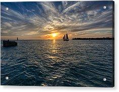 Key West Sunset Acrylic Print