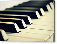 Keyboard Of A Piano Acrylic Print