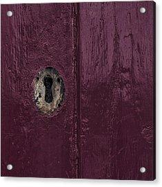 Keyhole Acrylic Print by Joana Kruse