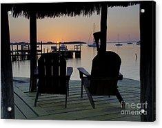 Keys Sunset Iv Acrylic Print by Bruce Bain