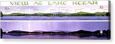 Kezar Lake View Acrylic Print by Mary Helmreich