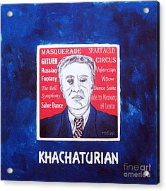 Khachaturian Acrylic Print by Paul Helm