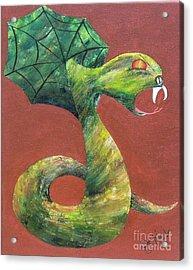 Khiel...the Snake Acrylic Print by JoNeL Art