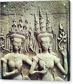 Khmer Concubines Acrylic Print