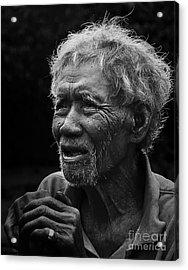 Kho Old Man Acrylic Print