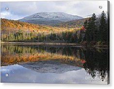 Kiah Pond - Sandwich New Hampshire Acrylic Print