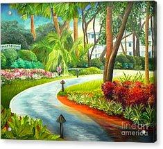 Kiawah Path - Kiawah Island Sc Acrylic Print by Shelia Kempf