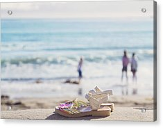 Kick Off Your Shoes... And Play Acrylic Print
