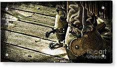 Kick Start Acrylic Print by Larry Young