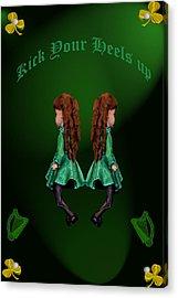 Kick Your Heels Up Acrylic Print by LeeAnn McLaneGoetz McLaneGoetzStudioLLCcom