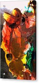 Acrylic Print featuring the digital art Kid Passenger by Christine Ricker Brandt