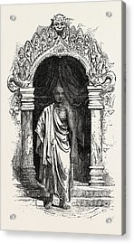 Kiddapple, The Rebel Buddhist Priest, Shot At Kandy Acrylic Print