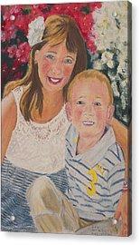 Kids 1 Acrylic Print by Dani Altieri Marinucci