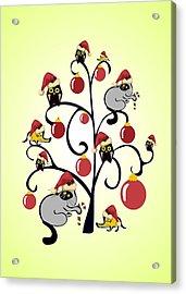 Kids Christmas Acrylic Print