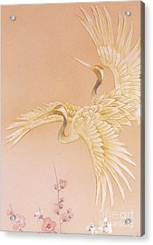 Kihaku Crop I Acrylic Print by Haruyo Morita