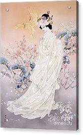 Kihaku Acrylic Print by Haruyo Morita