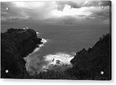 Kilauea Lighthouse I Acrylic Print by Maxwell Amaro