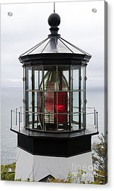 Kilauea Lighthouse Acrylic Print by Peter French