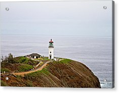 Kilauea Lighthouse Acrylic Print by Scott Pellegrin