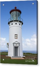 Acrylic Print featuring the photograph Kilauea Lighthouse by Suzanne Luft
