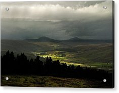 Kildonan Strath Northern Highlands Of Scotland Acrylic Print by Sally Ross