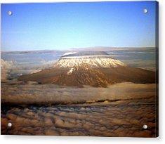 Kilimanjaro Acrylic Print by Tuntufye Abel