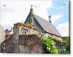 Kilkenny House Acrylic Print by Mary Carol Story