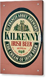 Kilkenny Irish Beer Acrylic Print