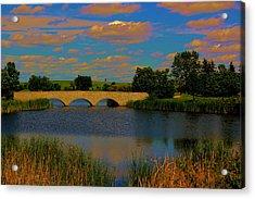 Kilkona Park Bridge Acrylic Print