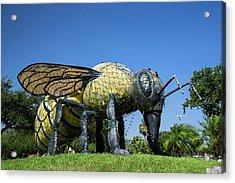 Killer Bee Model Acrylic Print
