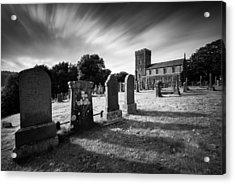 Kilmartin Parish Church Acrylic Print by Dave Bowman