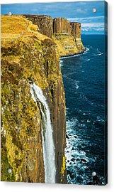 Kilt Rock Isle Of Skye Acrylic Print by David Ross