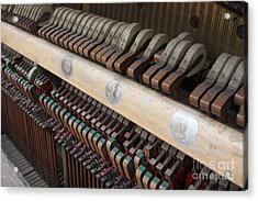 Kimball Piano-3471 Acrylic Print by Gary Gingrich Galleries