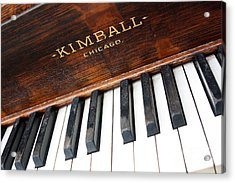 Kimball Piano-3479 Acrylic Print by Gary Gingrich Galleries