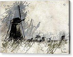 Kinderdijk 3 Acrylic Print