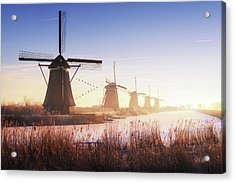 Kinderdijk 4. Acrylic Print