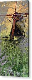 Kinderdijk 5c Acrylic Print