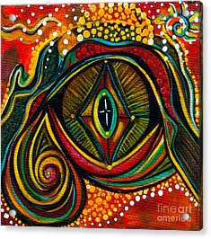 Kindness Spirit Eye Acrylic Print by Deborha Kerr