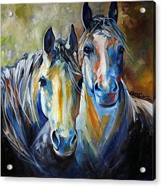 Kindred Souls Equine Acrylic Print