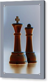 King And Queen Acrylic Print by Rob Hans