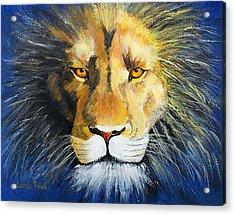 King Cat Acrylic Print by Jamie Frier