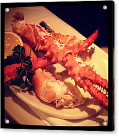 King Crab In Frame Acrylic Print