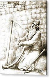 King David Acrylic Print