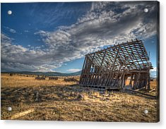 King Homestead Barn Acrylic Print by Joe Hudspeth